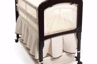 Arm's Reach Co-Sleeper Toffee Cambria Bassinet Review