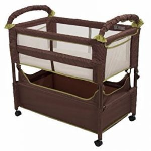Arm's Reach Concepts Cocoa/Fern Clear-Vue Bassinet Review