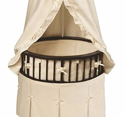 Badger Basket Elite Oval Bassinet with Waffle Bedding Review