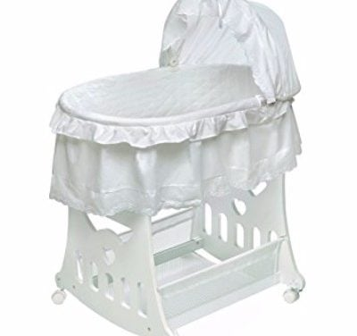 Badger Basket Portable Bassinet N Cradle with Toybox Base Review