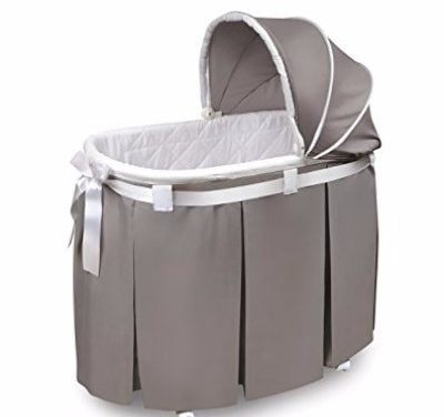 Badger Basket Wishes Oval Bassinet with Full Length Skirt Review