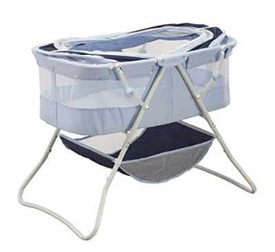 Big Oshi Newborn Dual Canopy Indoor & Outdoor Travel Bassinet Review