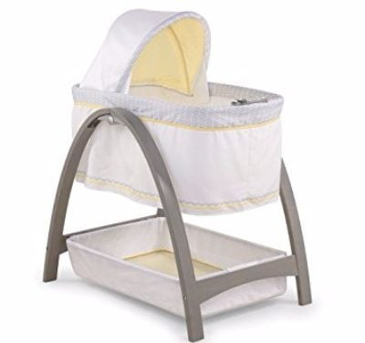 Summer Infant Chevron Leaf Bentwood Bassinet with Motion Review