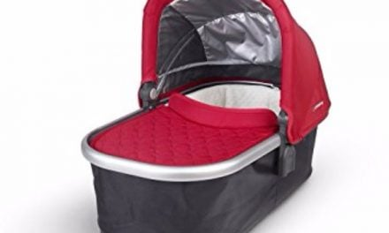 UPPAbaby Denny Red Bassinet Review